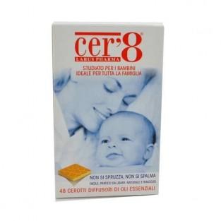 Cer8 Zanzare Repellente Antizanzare - 48 Cerotti