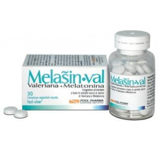 Melasin Val Melatonina 1 mg Valeriana - 30 compresse