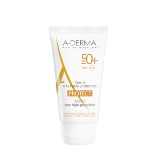 A-Derma Protect Crema Viso Protezione Solare - SPF 50+