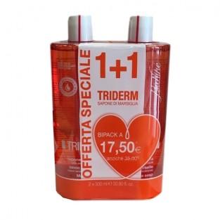 Triderm Sapone di Marsiglia liquido BioNike Triderm - Bipack 500 ml