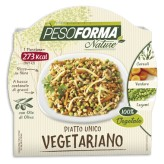 Piatto Unico Vegetariano Pesoforma Nature