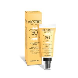 Angstrom Protect Fluido Solare Viso Hydraxol Matt SPF 30