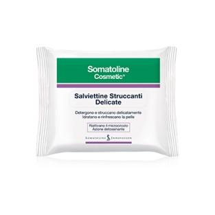 Salviettine Struccanti Delicate Somatoline Cosmetic - 20 Salviette