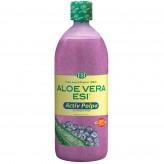 Aloe Vera Succo Activ Polpa con Mirtillo Esi - 1000 ml