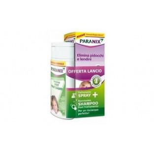 Kit Antipediculosi Spray + Shampoo Paranix